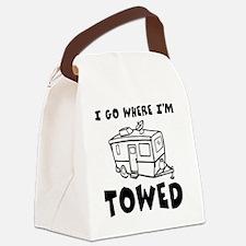 towedtrailer Canvas Lunch Bag
