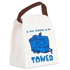 towedtrailerbutton Canvas Lunch Bag