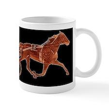 BrownTrotterBlackBgd Mug
