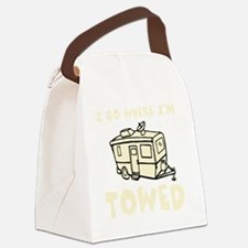 towedtrailercolor Canvas Lunch Bag