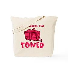 towedtrailerred Tote Bag