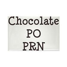 Chocolate p.o. PRN Rectangle Magnet