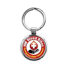 New Badge 2 Round Keychain