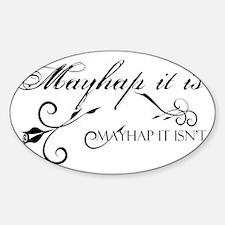Mother Abigail Sticker (Oval)