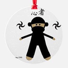 Ninja Sock Monkey 2010 Ornament