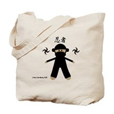 Ninja Sock Monkey 2010 Tote Bag