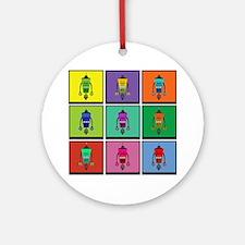 robotbox Round Ornament