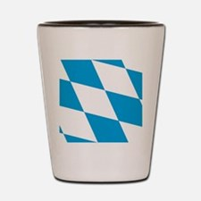 flag_of_bavaria_ww Shot Glass