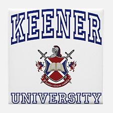 KEENER University Tile Coaster