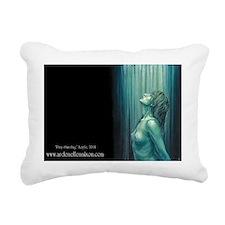 Pray Standing Rectangular Canvas Pillow