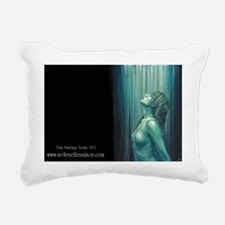 Pray Standing Rectangular Canvas Pillow