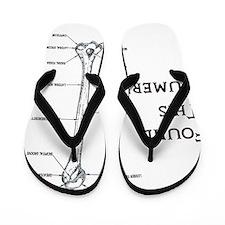 I found this humerus Flip Flops