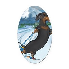 xcountryiphone4 Oval Car Magnet