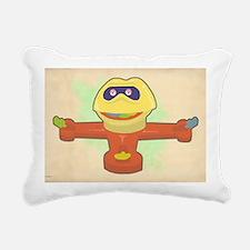 mr mouth hartter Rectangular Canvas Pillow