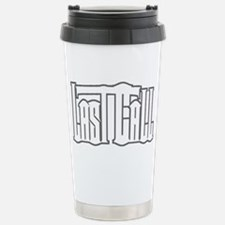 2010 Logo white on white Travel Mug