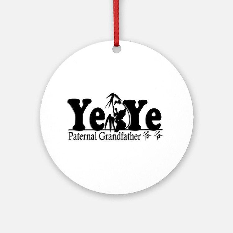 Ye Ye Panda 1 Ornament (Round)
