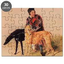 BoyandDeerhound Puzzle