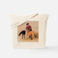 BoyandDeerhound Tote Bag