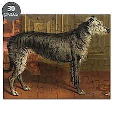 DeerhoundCard Puzzle