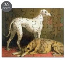 DeerhoundsCard Puzzle