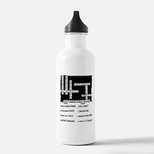 Toughest Crossword Puz Water Bottle