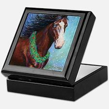 Jingle Bell Horse Keepsake Box