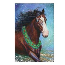 Jingle Bell Horse Postcards (Package of 8)
