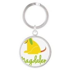 Magdalena-loves-puppies Round Keychain