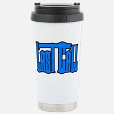 2010 Logo Blue Travel Mug