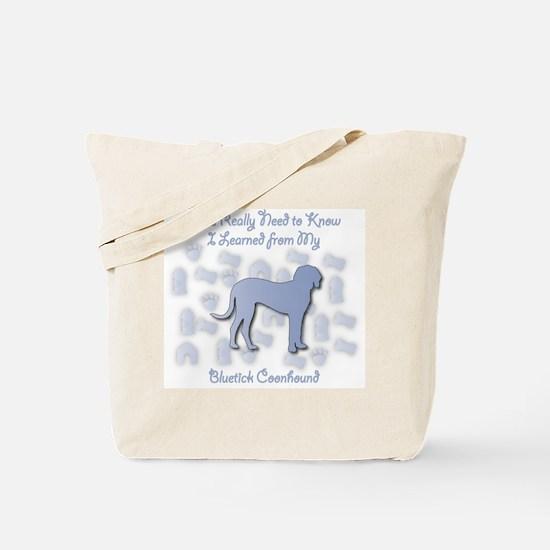 Learned Bluetick Tote Bag