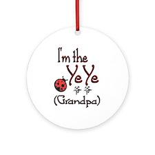 Ye Ye Ladybug Ornament (Round)