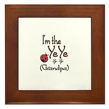 Ye Ye Ladybug Framed Tile
