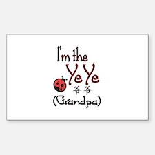 Ye Ye Ladybug Rectangle Decal