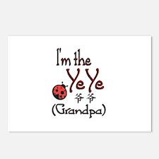 Ye Ye Ladybug Postcards (Package of 8)