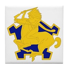 9th Cavalry Regiment Tile Coaster