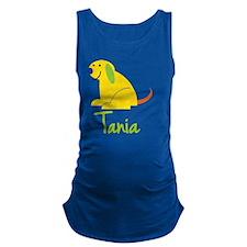 Tania-loves-puppies Maternity Tank Top