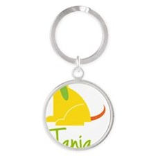 Tania-loves-puppies Round Keychain