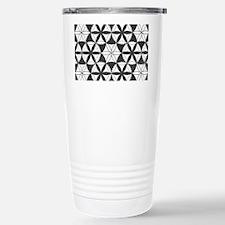 Fl_of_Lf_BW_toiletry_bag Travel Mug