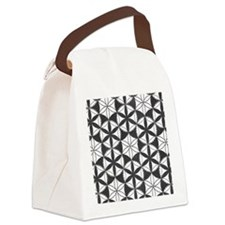 Fl_of_Lf_BW_mens_wallet Canvas Lunch Bag