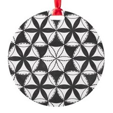 Fl_of_Lf_BW_notecard_front Ornament