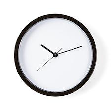 milk-bar-outline Wall Clock