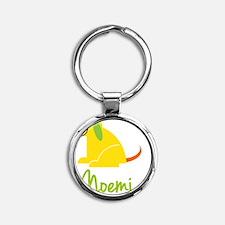 Noemi-loves-puppies Round Keychain