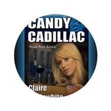"""Candy Cadillac mouse pad 3.5"""" Button"""