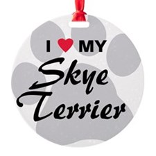 Skye-Terrier Ornament