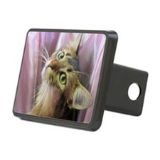 cat portrait Hitch Cover