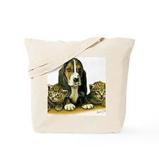 Basset Pup Tote Bag