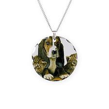 Basset Pup Necklace