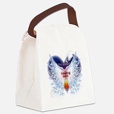 angel wings breaking dawn good co Canvas Lunch Bag