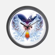 angel wings breaking dawn good copy by  Wall Clock