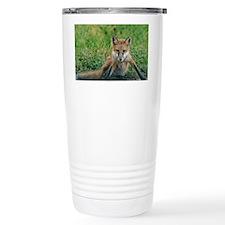 fox dry brush Travel Mug